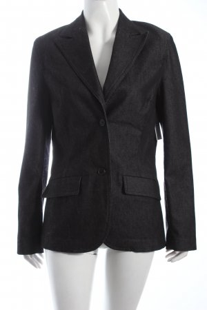 H&M Denim Blazer anthracite casual look