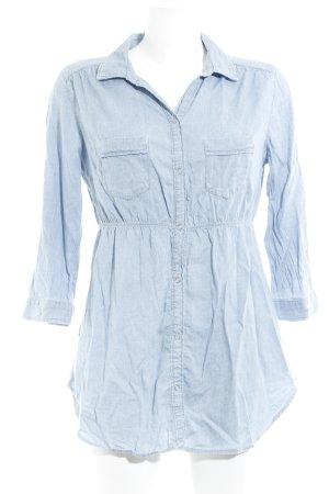 H&M Blouse en jean bleu azur style décontracté