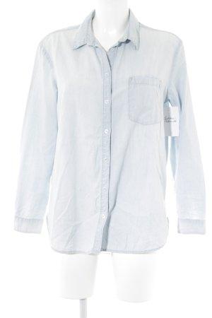 H&M Jeanshemd blassblau Casual-Look
