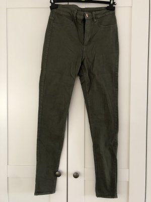 H&M Divided Hoge taille jeans khaki