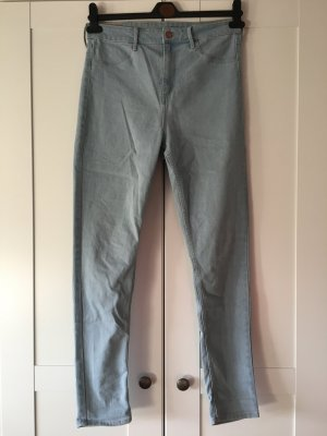 H&M Hoge taille jeans azuur