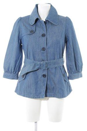 H&M Jeansjacke blau klassischer Stil