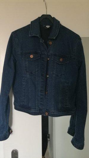 H&M Denim Jacket blue-dark blue