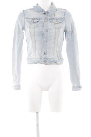 H&M Jeansjacke hellblau-blassblau Casual-Look