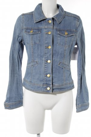 H&M Denim Jacket cornflower blue casual look