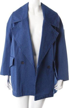 H&M Veste en jean bleu coton