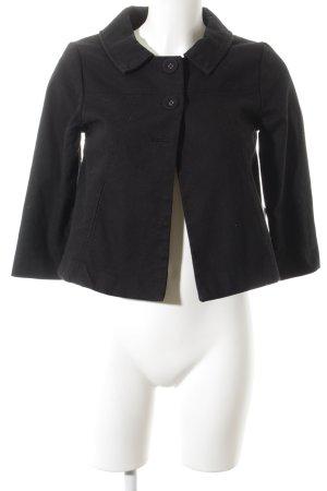 H&M Jeansjacke schwarz minimalistischer Stil