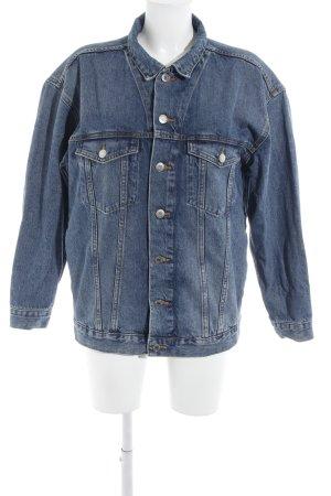 "H&M Jeansjacke ""Uni Jacket 1"" blau"