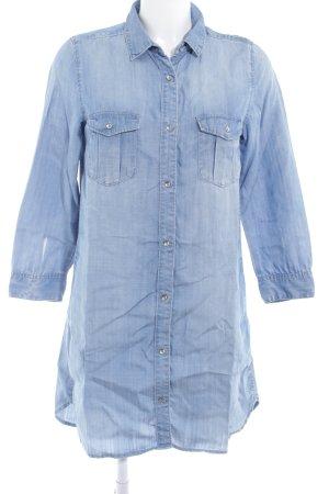 H&M Denim Dress azure casual look