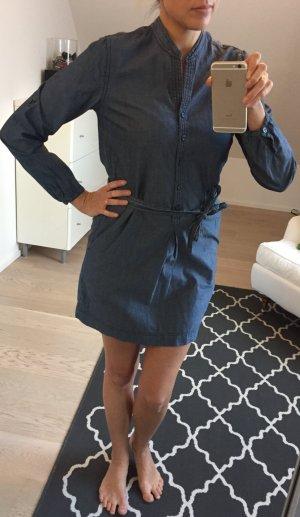 *H&M* Jeanskleid mit langen Ärmeln und Knopfleiste