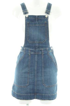 H&M Abito denim blu acciaio stile casual