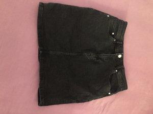 H&M Spijkerrok zwart