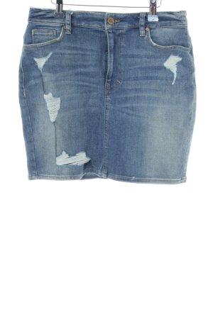 H&M Denim Skirt blue casual look