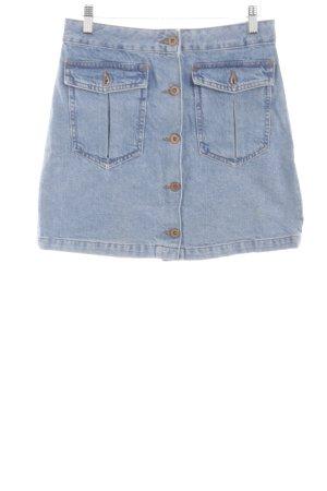 H&M Jupe en jeans bleu style décontracté
