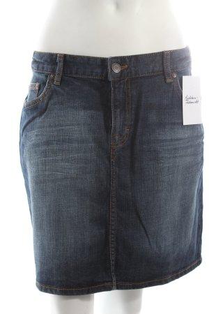 H&M Jupe en jeans bleu foncé style décontracté