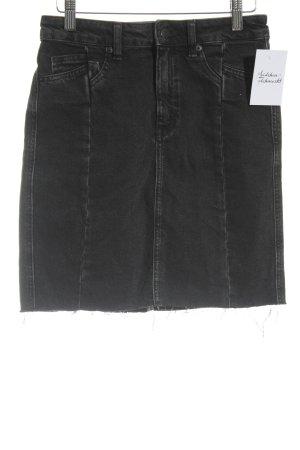 H&M Jeansrock grau Street-Fashion-Look
