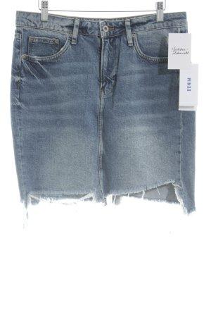 H&M Jeansrock kornblumenblau Casual-Look