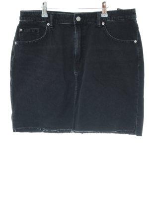 H&M Denim Skirt black casual look