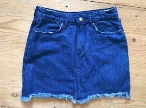 H&M Jeansrock XS  blau