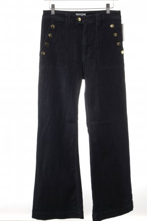 H&M Jeansschlaghose dunkelblau Casual-Look