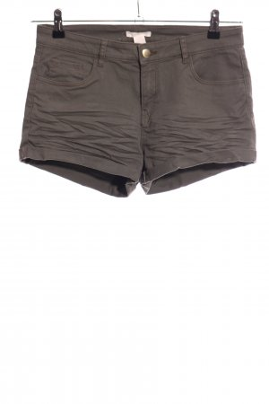 H&M Denim Shorts brown casual look