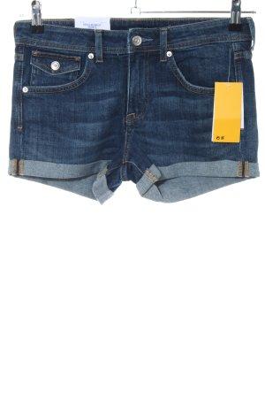 H&M Short en jean bleu style décontracté