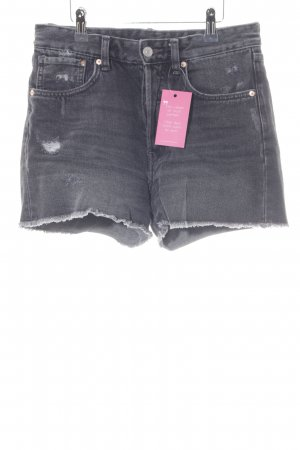 H&M Jeansshorts anthrazit Urban-Look