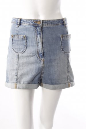H&M Jeansshorts aufgesetzte Taschen