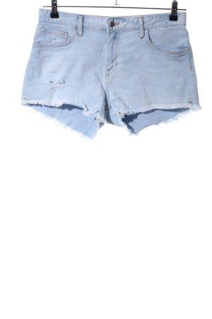 H&M Pantaloncino di jeans blu stile casual