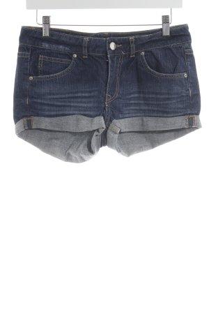 H&M Jeansshorts dunkelblau sportlicher Stil