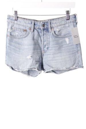 H&M Jeansshorts Hellblau