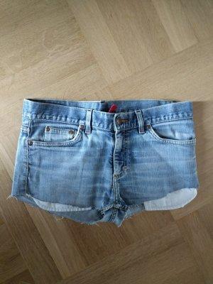 H&M Jeansshorts hot pants cut off denim Hose