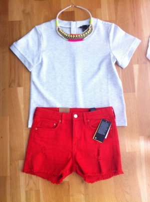H&M Jeansshorts in rot
