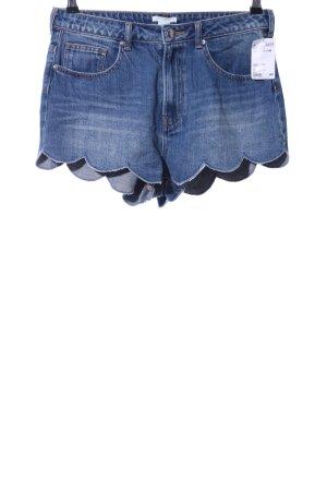 H&M Jeansshorts kornblumenblau Casual-Look