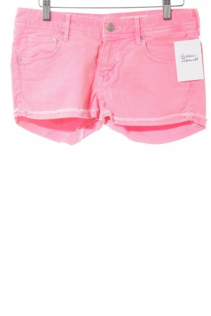 H&M Jeansshorts neonpink Casual-Look