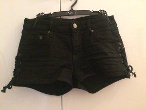 H&M Jeansshorts schwarz