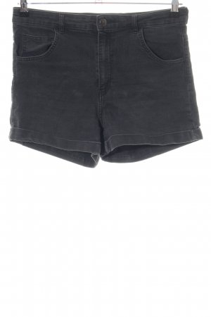 H&M Denim Shorts black casual look