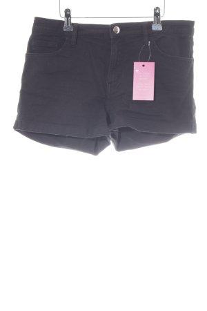 H&M Jeansshorts schwarz schlichter Stil