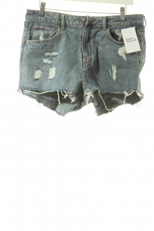 H&M Jeansshorts stahlblau Casual-Look