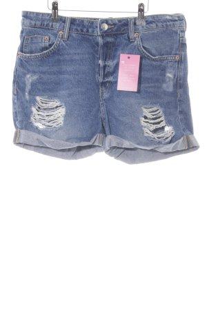 H&M Jeansshorts stahlblau Urban-Look