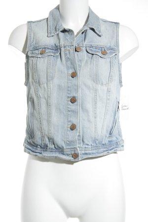 H&M Jeansweste blassblau-himmelblau Casual-Look