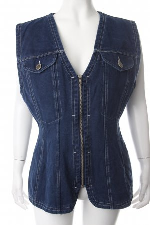 H&M Denim Vest dark blue vintage products