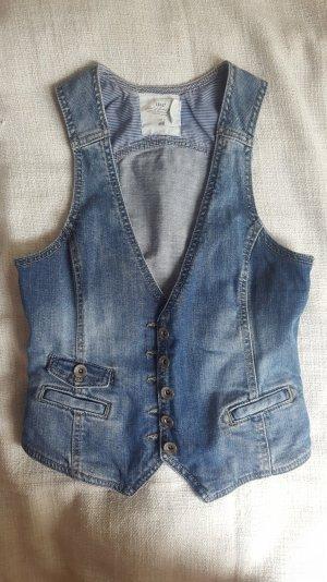 H&M - Jeansweste; Gr. 36