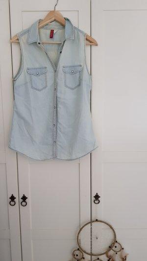 H&M - Jeansweste; Gr. 38/40