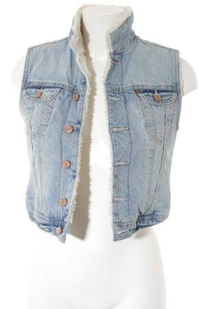 H&M Denim Vest azure casual look