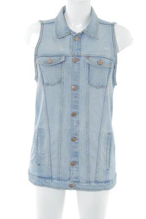 H&M Spijkervest azuur casual uitstraling