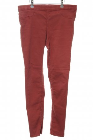 H&M Jeggings rot-braun Casual-Look