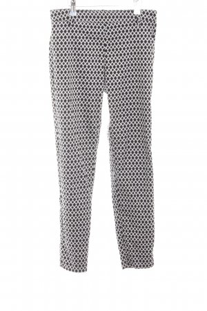 H&M Jeggings black-white allover print business style