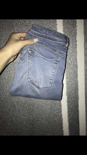 H&M Jegging bleu azur
