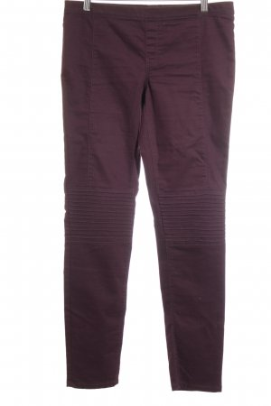 H&M Jeggings brombeerrot Casual-Look